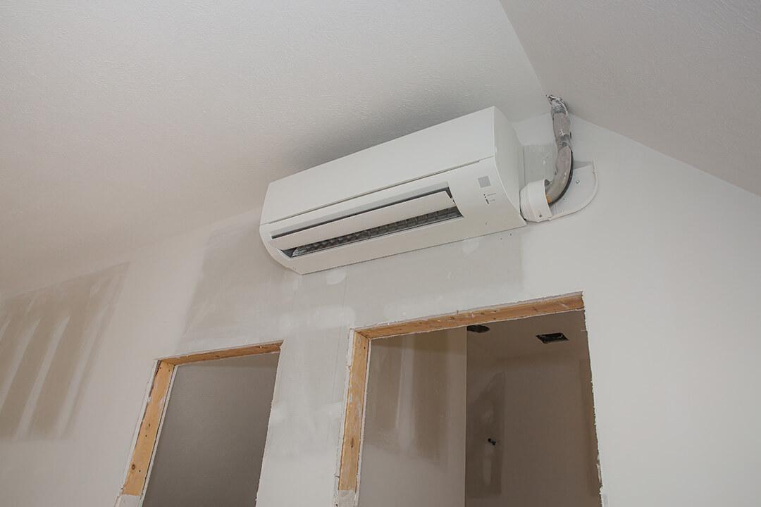 mini-split air conditioning unit